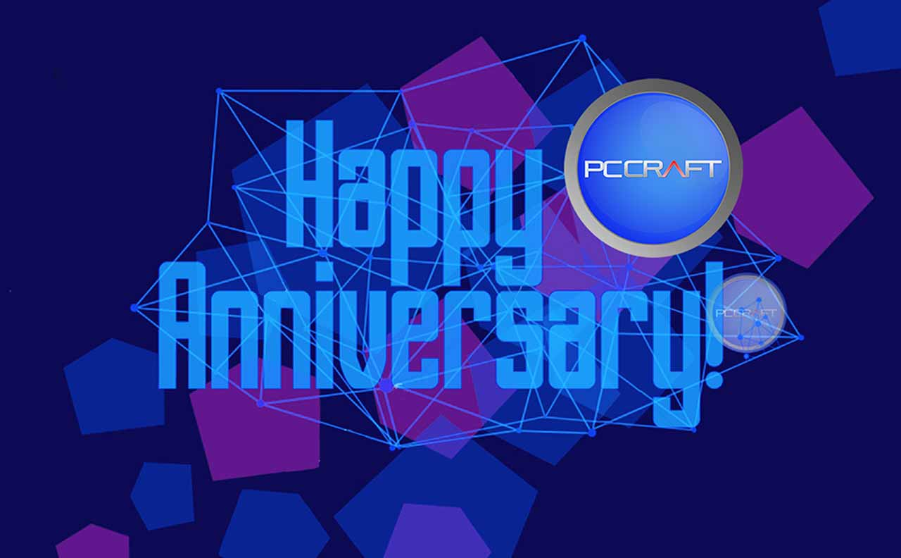 HAPPY 21ST ANNIVERSARY PCCRAFT!!!